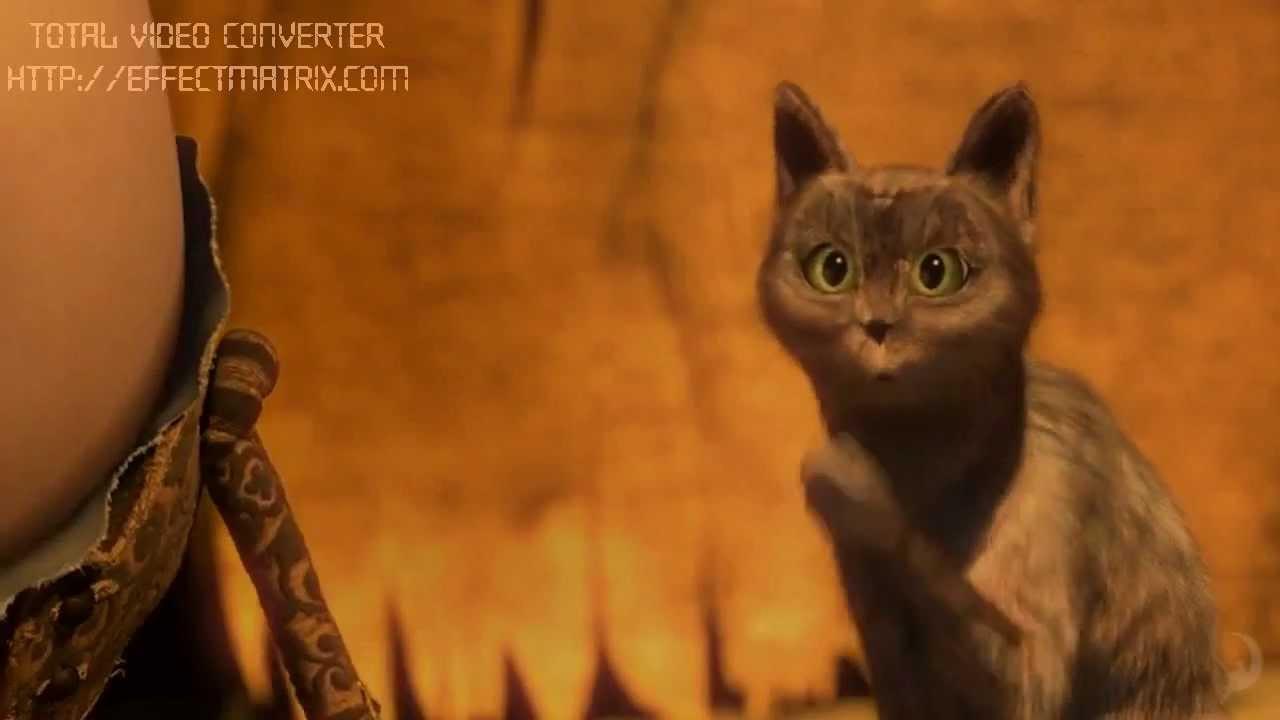 Мультфильм кот сапогах шрека смотреть онлайн