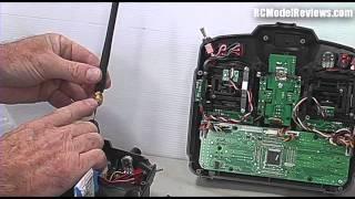 Installing the FrSky 2.4GHz DIY kit in a...