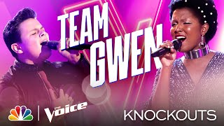 The Coaches Love Carter Rubin and Chloé Hogan's Performances So Much - The Voice Knockouts 2020