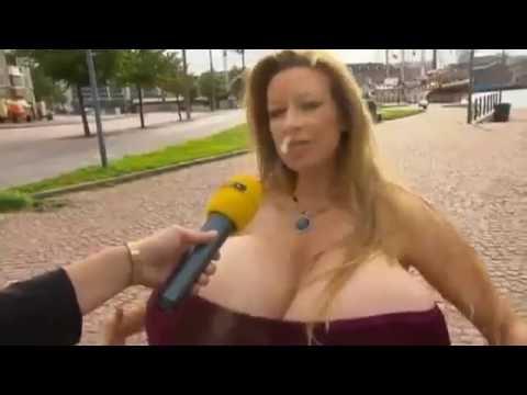 Interview di jalan dengan cewek berdada super besar thumbnail