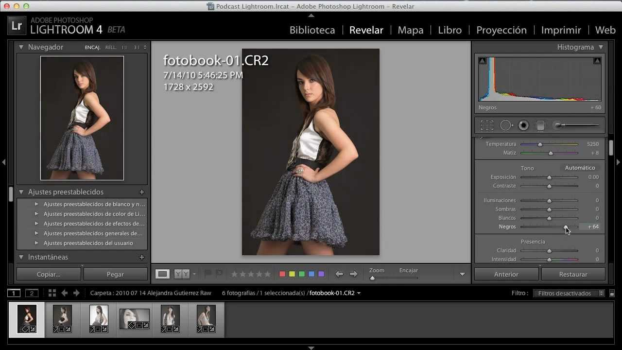 Tutorial de Adobe Photoshop Lightroom 4 Beta en Español ...