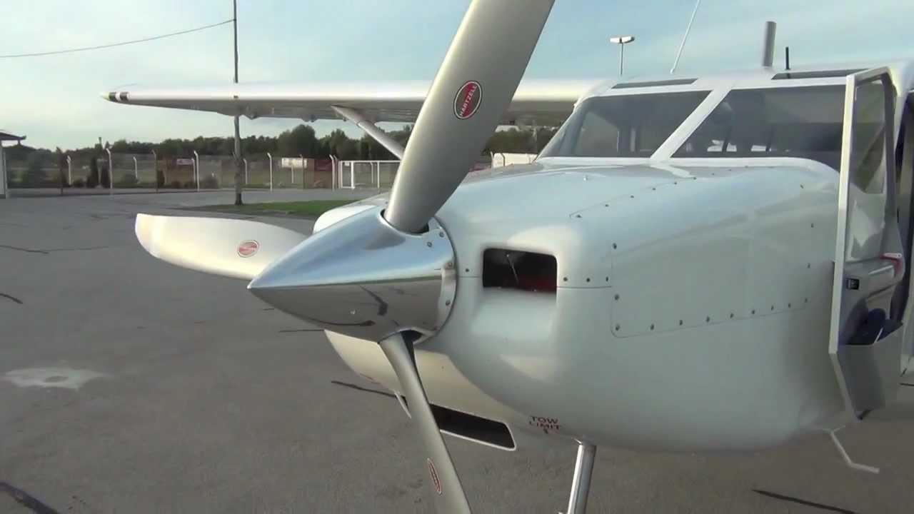 GippsAero AV 8 Airvan Flight Test (HD)