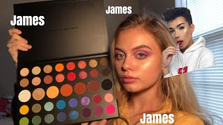 morphe x james charles palette review