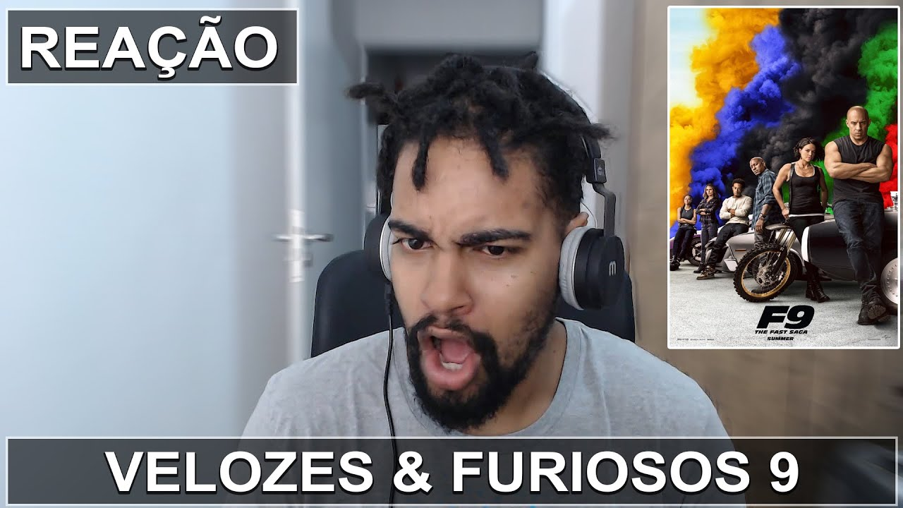 VELOZES & FURIOSOS 9 (2020) | Reação ao Trailer