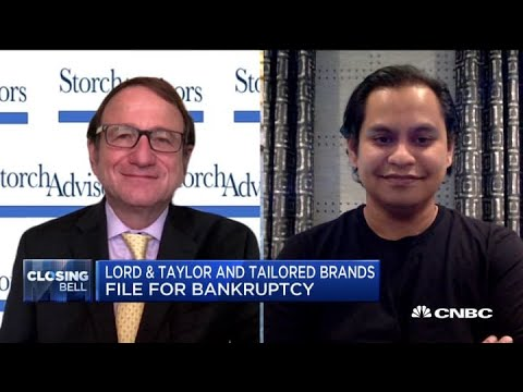 Two more retailers file for bankruptcy: Lord & Taylor and Tailored ...