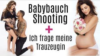BABYBAUCHSHOOTING + MEINE TRAUZEUGIN ♡ Sarah Nowak und Dominic Harrison