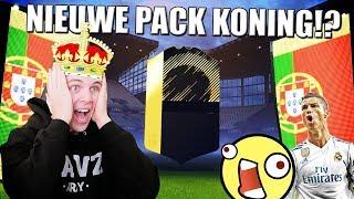 BEN IK DE NIEUWE PACK KONING!? FIFA 18 PACK OPENING!!