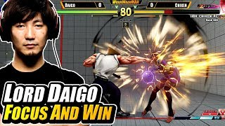 Daigo 'The Beast' Umehara is liking the new update a lot! Some sour...