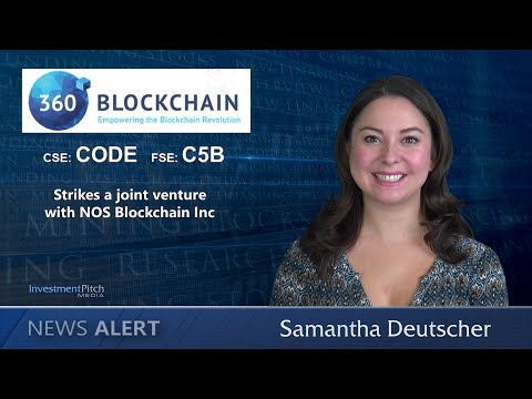 360 Blockchain Inc. (CSE:CODE) Strikes A Joint Venture With NOS Blockchain Inc
