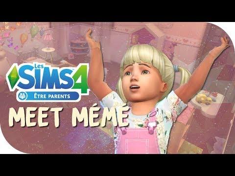 🔴 [Sims 4 : Être parent] 👼 MEET MEME EP.1