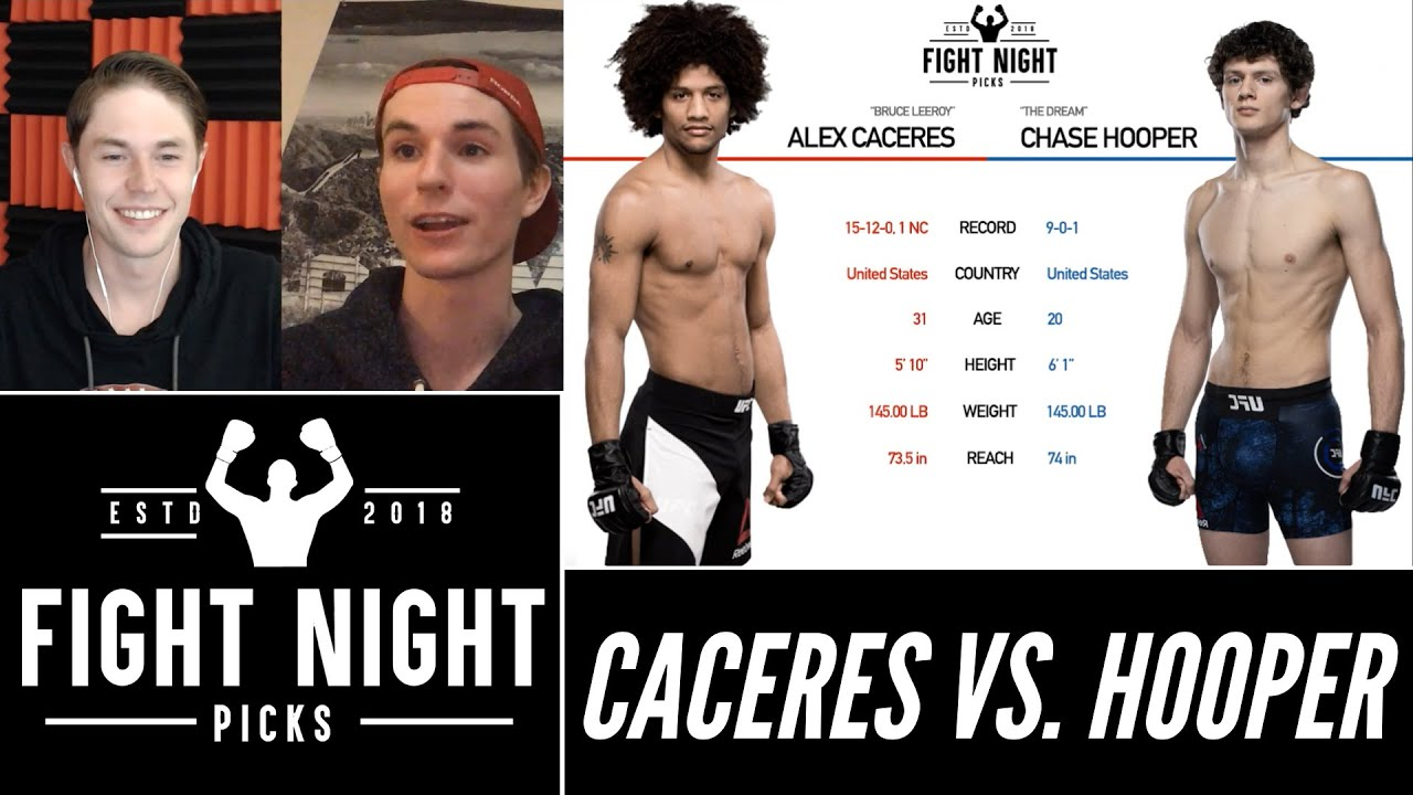Alex Caceres vs. Chase Hooper pick, prediction and best bet: Is ...