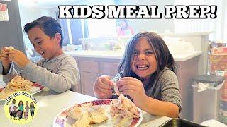 connectYoutube - KIDS MEAL PREP DINNER WITH MOM | PHILLIPS FamBam Vlogs