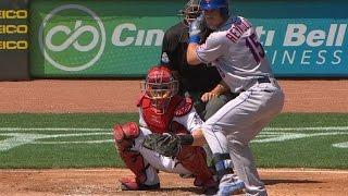 NYM@CIN: Reynolds collects three hits in MLB return