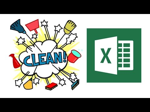 How to clean data in excel ?