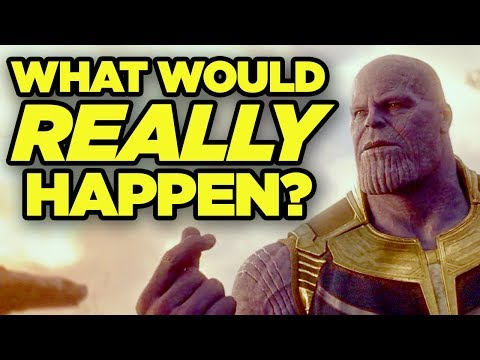 If Thanos Snap REALLY Happened! Real-World Impact of Avengers Infinity War!
