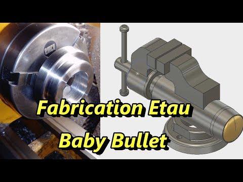 Fabrication Etau Mini Bullet Part 1
