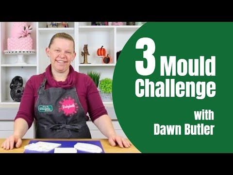 3 Mould Cake Decorating Challenge With Dawn Butler