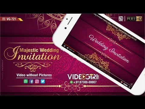 Majestic Wedding Invitation