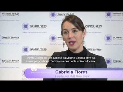 Interview with Gabriela Flores - 2012 Cartier Women's Initiative Awards Laureate for Latin America