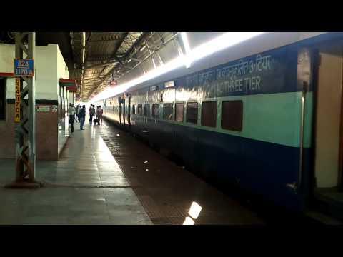 Bundelkhand' express at Allahabad station