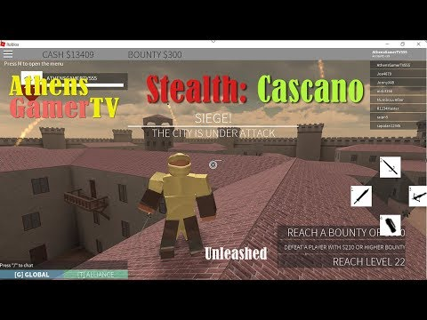 Roblox Stealth : Cascano (Thai) พากย์ไทย AthensGamerTV by Athens Thanakrit