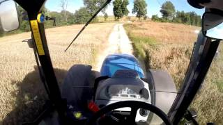 Oczami Traktorzysty New Holland T6030 Elite #4 Zwożenie Zboża Do Magazynu