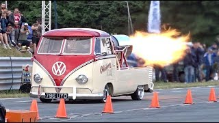 Download Video Oklahoma Willy Jet Bus - 132mph 1/4 mile run at EBI 7 MP3 3GP MP4