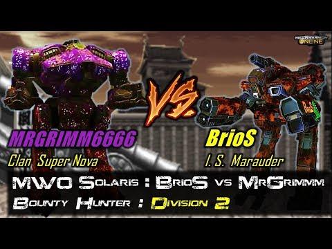 [BRxV] MWO Solaris : BrioS vs MrGrimm - Cunning Foe, VERY Close Match!!