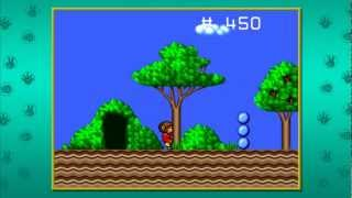 Alex Kidd In the Enchanted Castle : Level 2 - Prairie