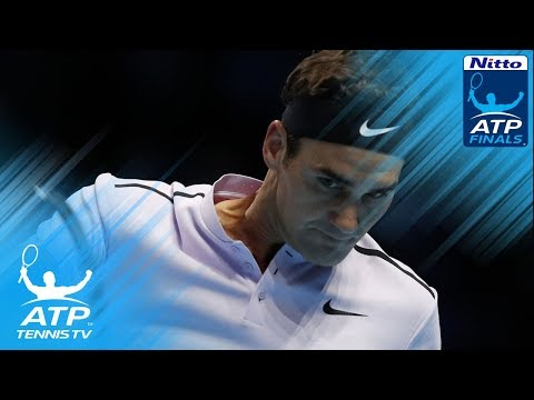 Gripping Federer vs Zverev rallies   Nitto ATP Finals 2017
