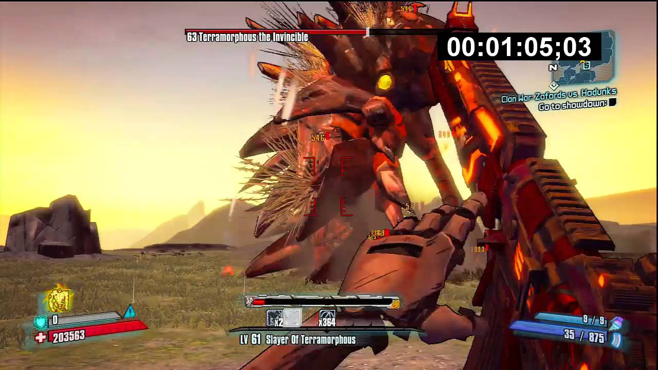 How to Solo Terramorphous in UVHM with Gaige (Mechromancer)