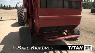 Bale-wrapper-tensioner