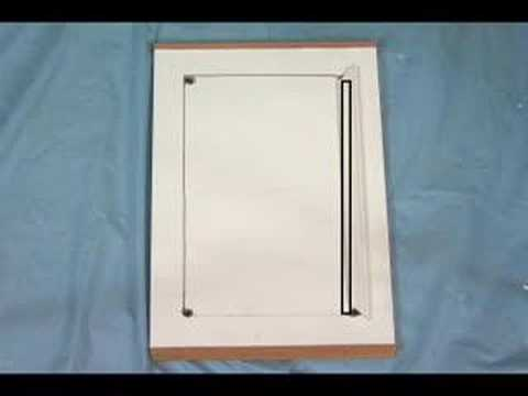 How do I Install Glass in Cabinet Doors - YouTube