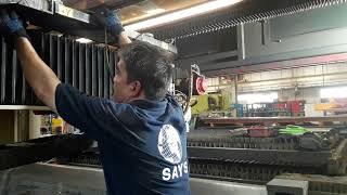 1 Kw fiber laser service