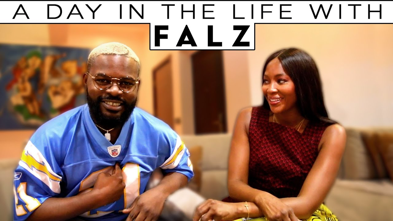 A Day in the Life of Musician Falz | Being Naomi