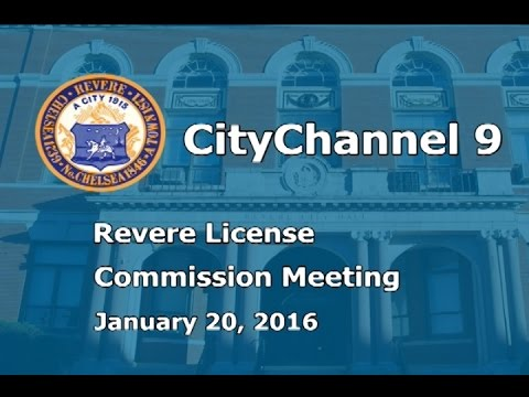 License Commission (01/20/16)