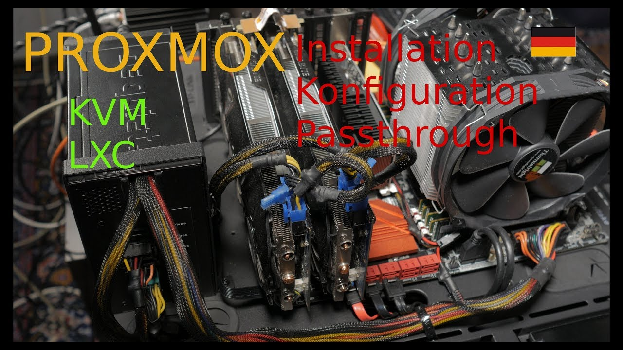 Proxmox | Installation und Konfiguration (Deutsch)