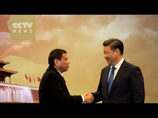 Dutertes first visit to China