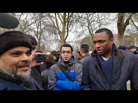 Did Jesus worship the Father as God! Br Hashim vs Christian Speakers Corner Hyde Park