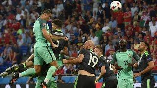 Portugal vs Wales 2-0 Highlights HD Euro 2016