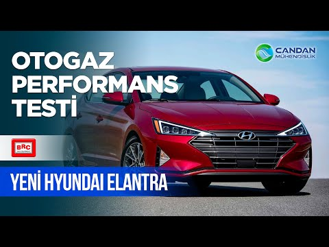 Yeni Hyundai Elantra Otogaz Performans Testi ; BRC LPG