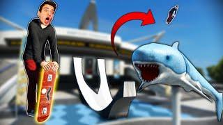 I SKATED A HOVERBOARD?! (Skate 3)