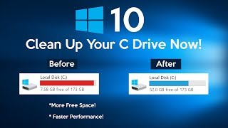 How to Clean C Drive In Windows 10  (Make Your PC Faster)