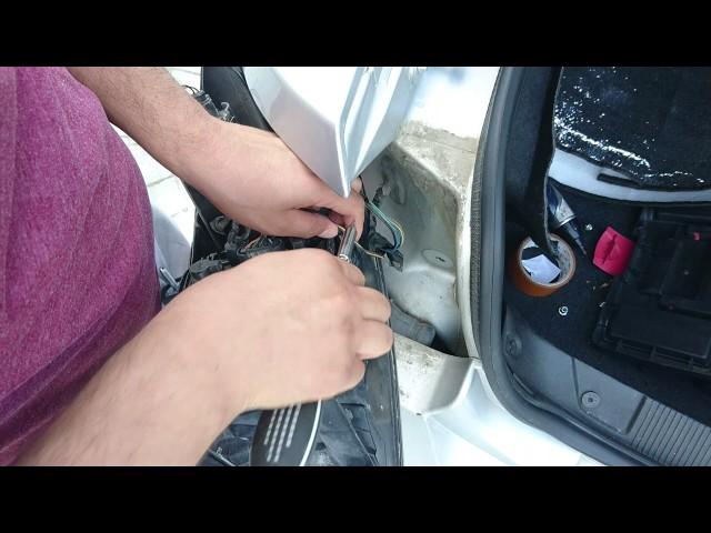 Fiat Linea Arka Park Ampülü Değişimi