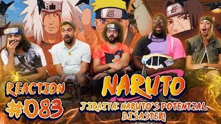 Naruto - Episode 83 Jiraiya: Naruto's Potential Disaster! - Group Reaction