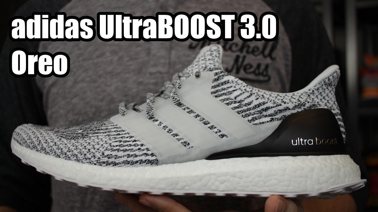 8eb4ca57135c6 adidas UltraBOOST 3.0  Oreo  W  On Foot - YouTube