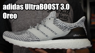 03a62cdd1 ADIDAS ULTRA BOOST 3.0 OREO REVIEW - YouTube