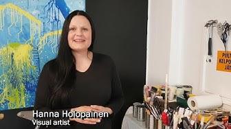 Visual artist Hanna Holopainen - Taiko