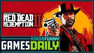 Red Dead Redemption 2 Gameplay Reactions - Kinda Funny Games Daily 08.09.18