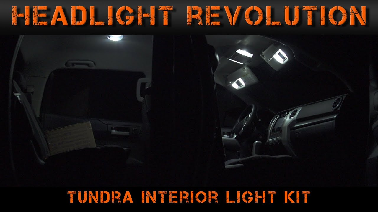 2014 2017 Toyota Tundra Interior Lights Video Series 4 Fuse Box Buy Spares For Ford F Fuses And Headlight Revolution Youtube